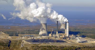 Duke Energy Coal Units Crystal River Energy Complex Aerial