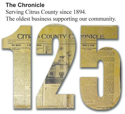 125 years chronicle logo