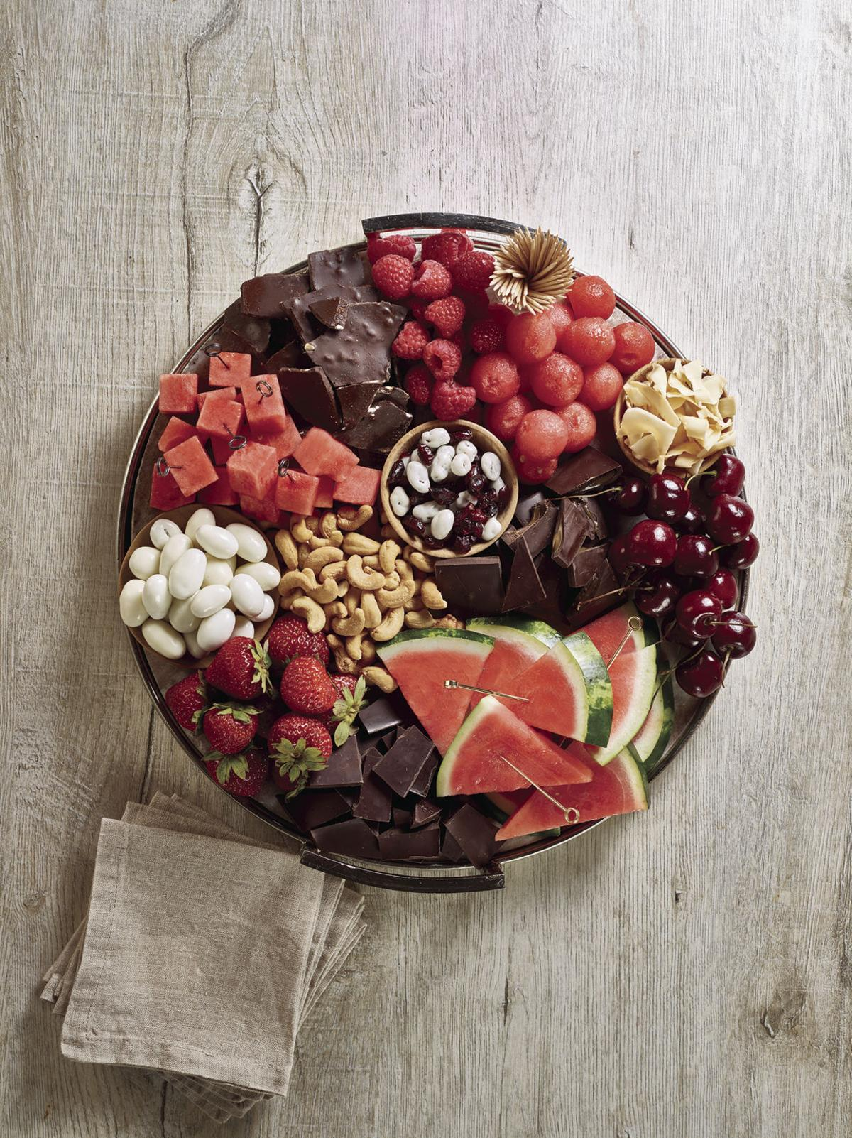 V-day platter