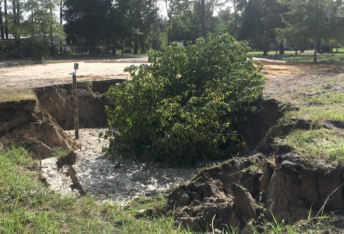 West Lincoln Lane Homosassa Sinkhole