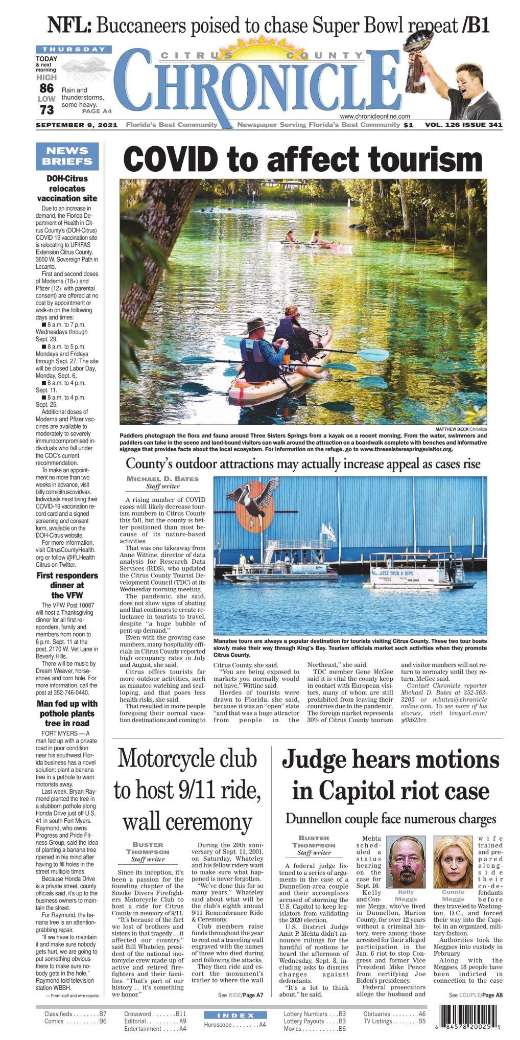 Citrus County Chronicle e-edition Sep 9, 2021