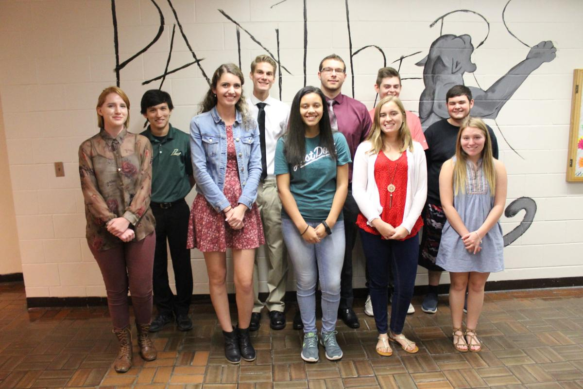 LHS Students of the Month 1206