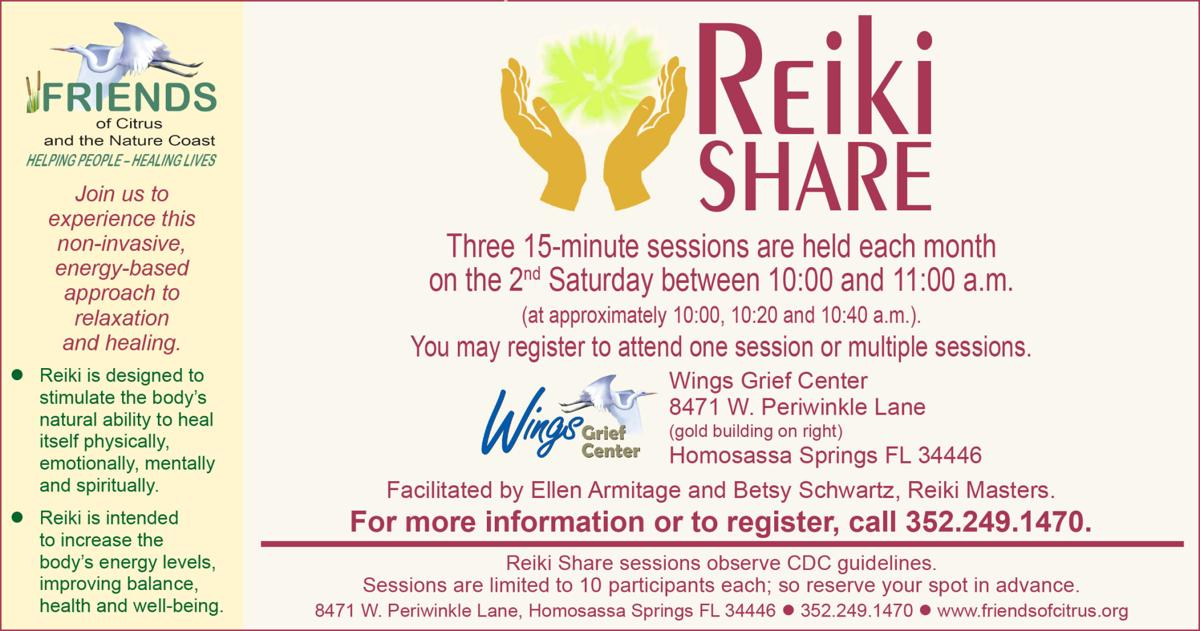 "Details for ""Reiki Share"" Wellness Program"