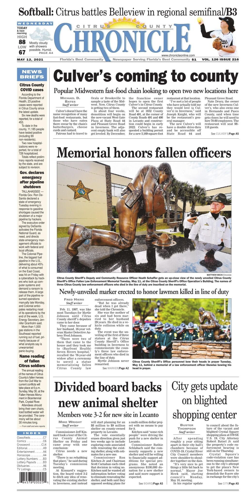 Citrus County Chronicle e edition May 12, 2021