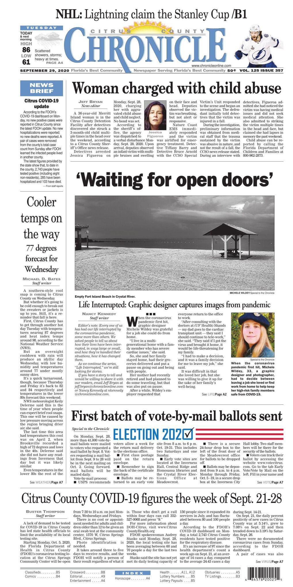 Citrus County Chronicle e edition Sept 29, 2020