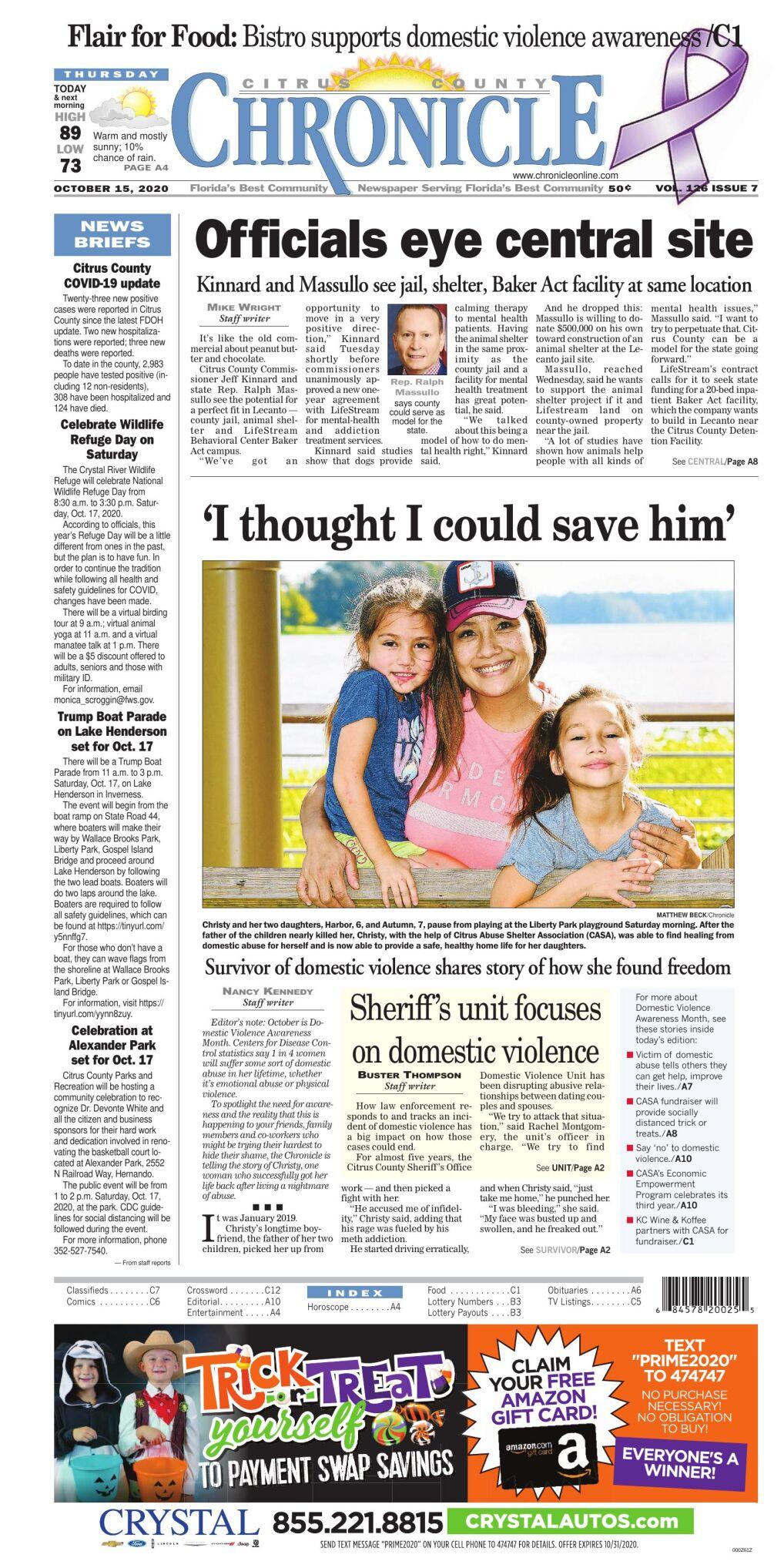 Citrus County Chronicle e edition Oct 15, 2020