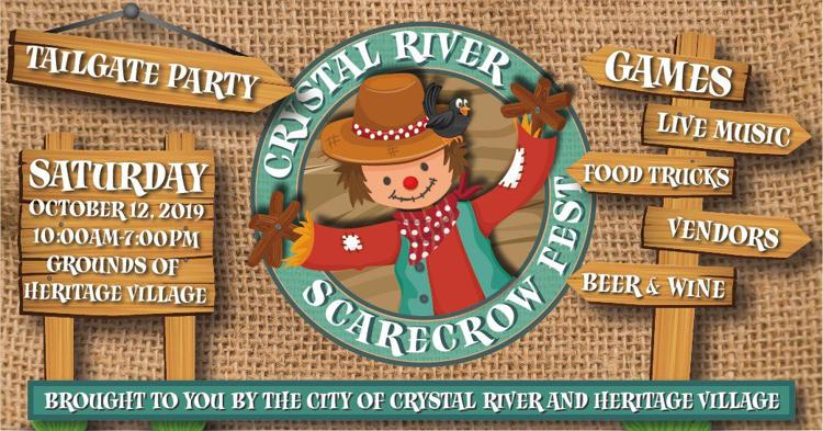 Crystal River Scarecrow Fest