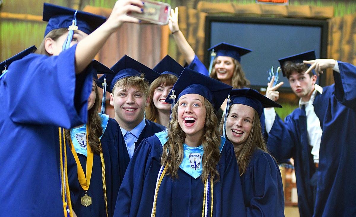 Seven Rivers Christian School graduation 2020 dominant