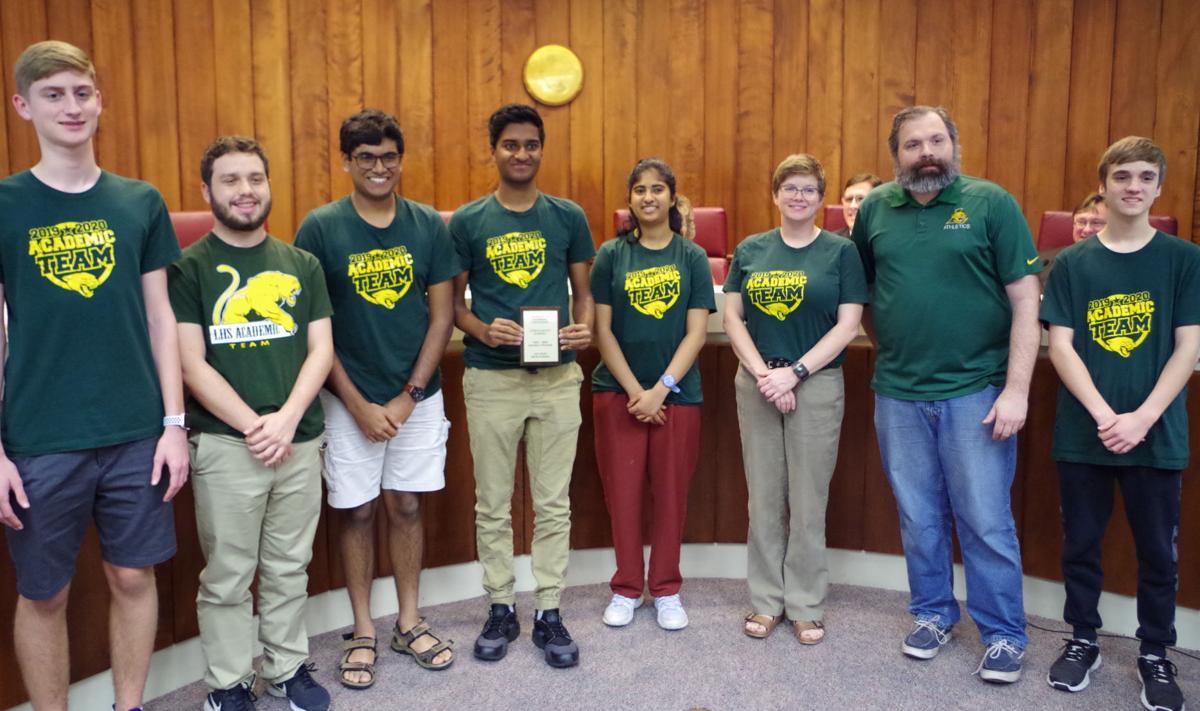 School Board LHS Academic Challenge Team