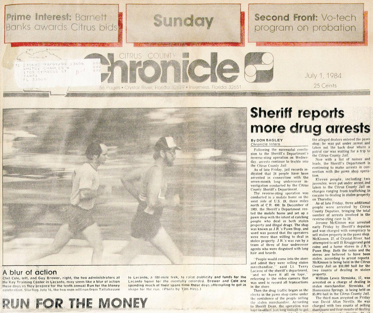 Citrus County Chronicle July 1, 1984