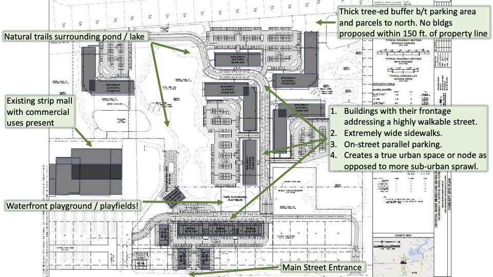 West Pure Lane Development Conceptual Plan