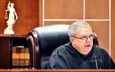 "Judge Richard ""Ric"" Howard in court"