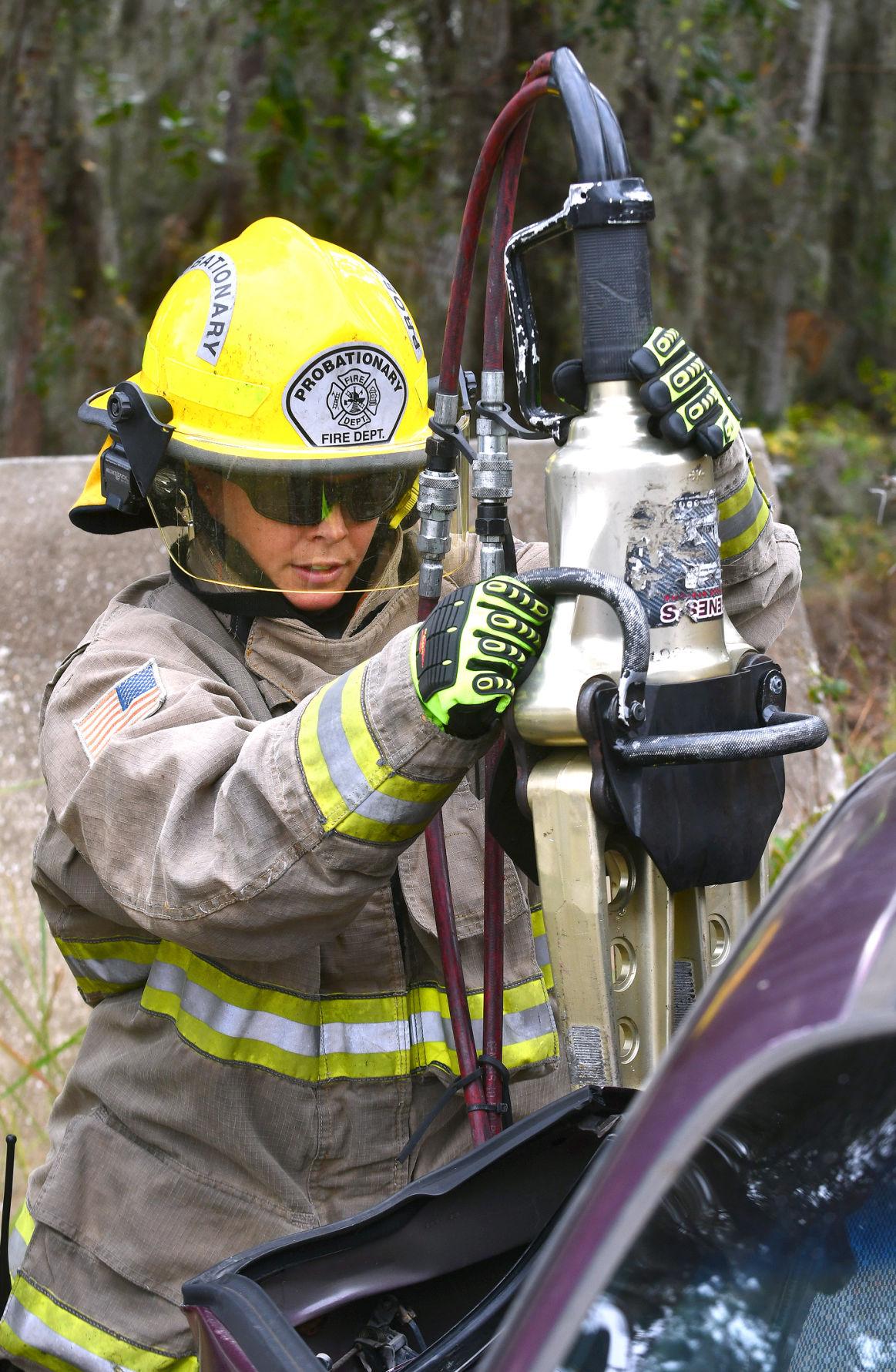marine corp firefighter
