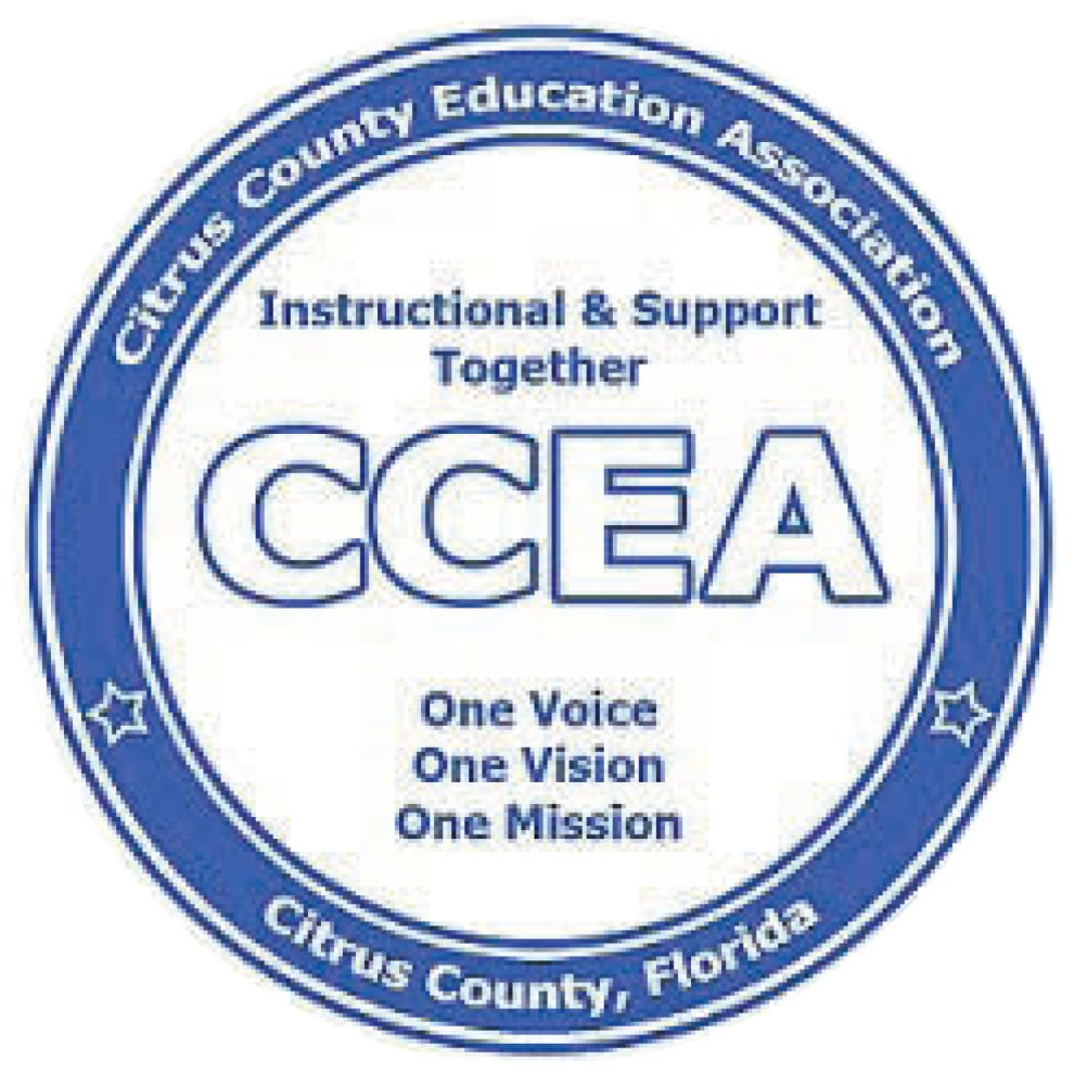Citrus County Education Association CCEA Logo