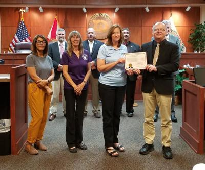 BOCC proclaims red ribbon week, unity day