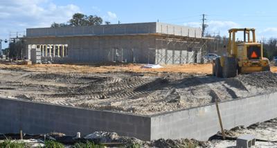 Chassahowitzka McDonalds construction