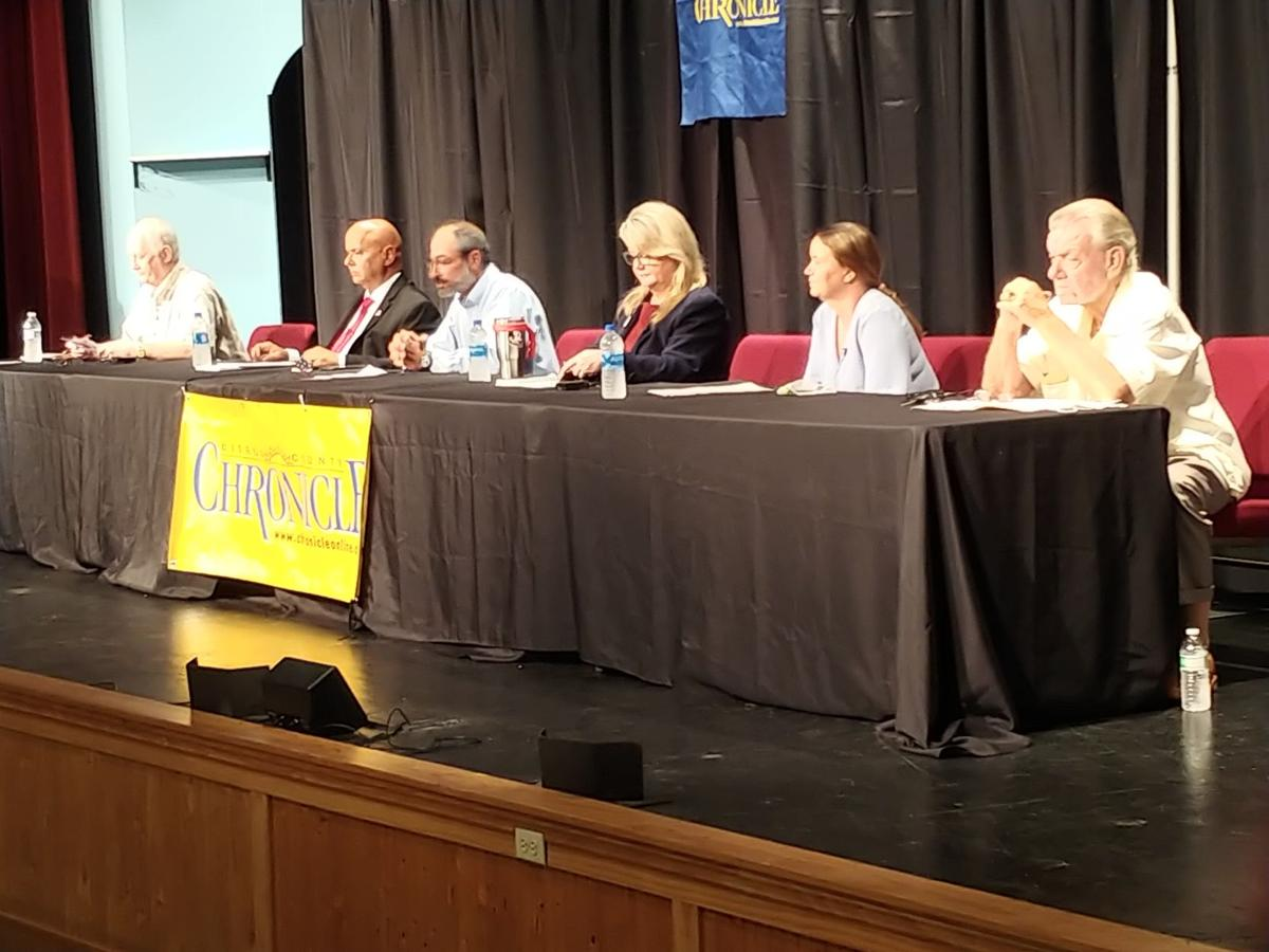 District 3 commission candidates