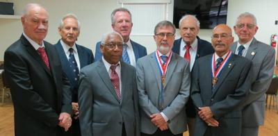 Knights Council 6168 installs new officers