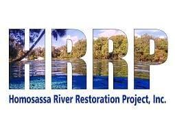 Homosassa River Restoration Project HRRP Logo