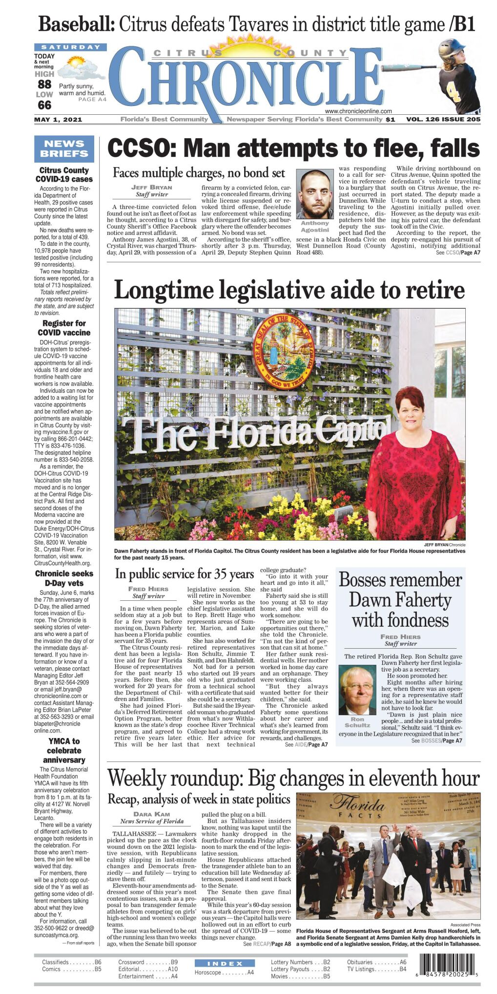 Citrus County Chronicle e-edition May 1, 2021