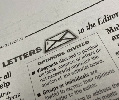 Letters to the editor logo 2021