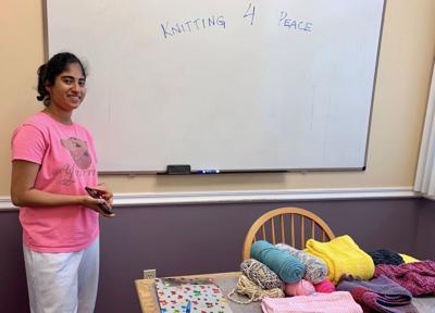 Knitting 4 Peace Apoorva Desaraju