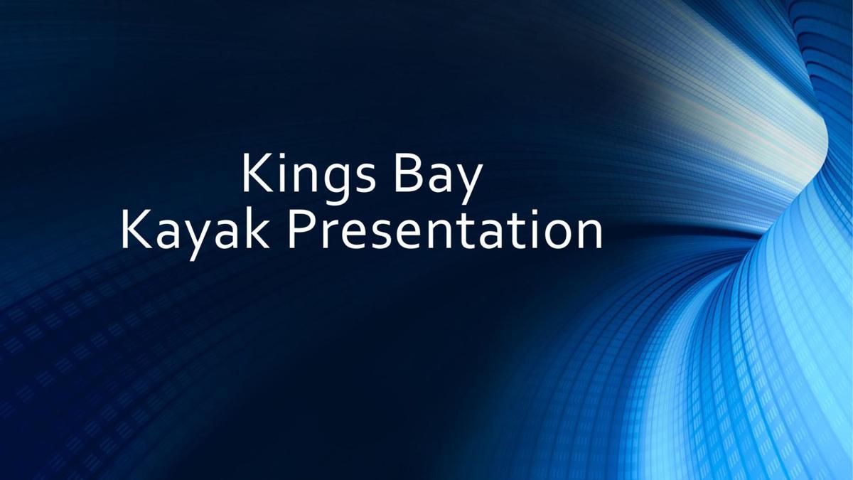Crystal River Kayak Rules Presentation