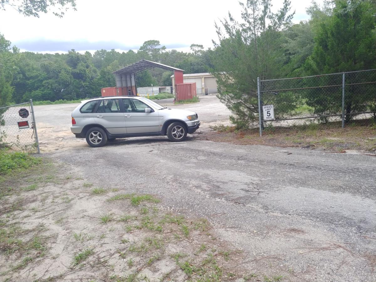 Schweickert's car at 44