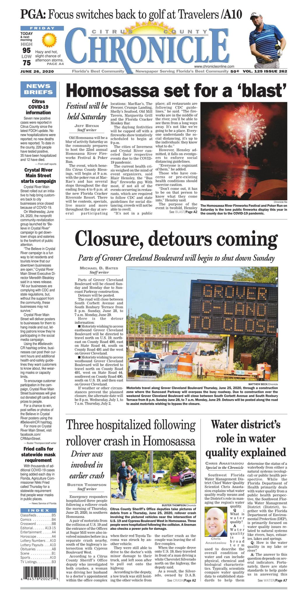 Citrus County Chronicle E Edition June 26 2020
