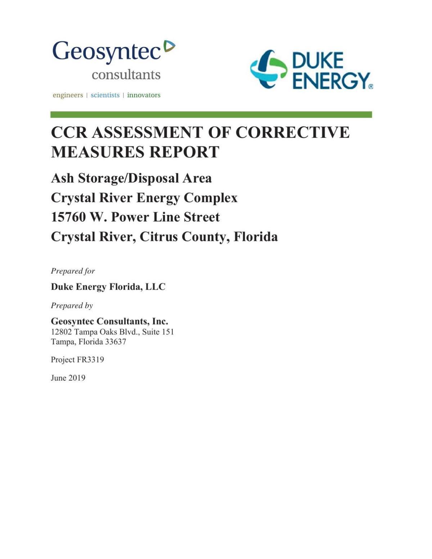 Geosyntec Consultants' Duke Energy Coal Ash Report