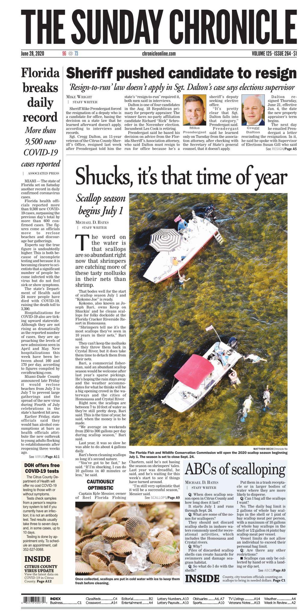 Citrus County Chronicle e-edition June 28, 2020