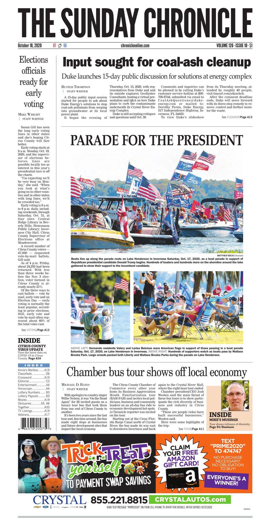 Christmas Show Citrus County Fl 2020 Citrus County Chronicle Oct 18, 2020 e edition | E edition