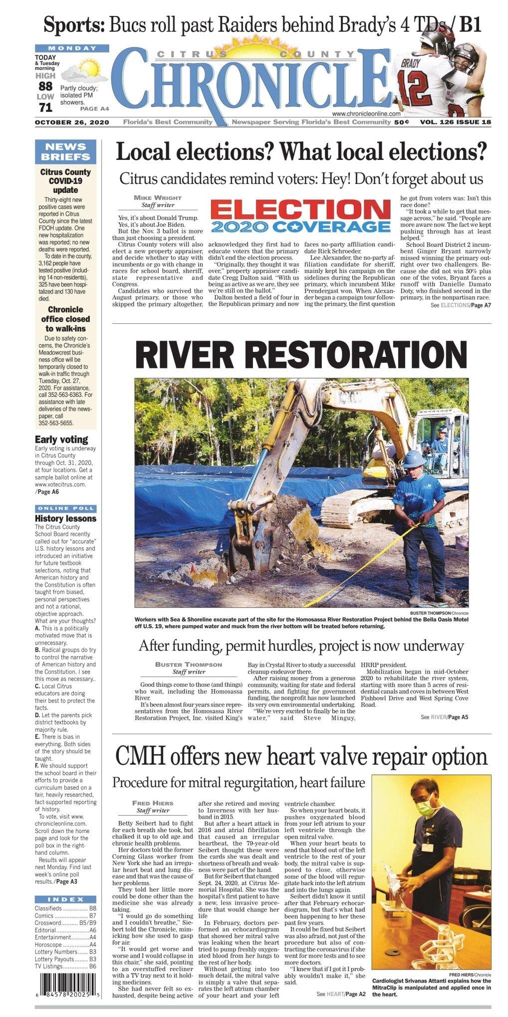 Citrus County Chronicle e edition Oct 26, 2020