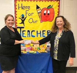 Delta Kappa Gamma International Society of Key Women donates to Citrus County Education Foundation