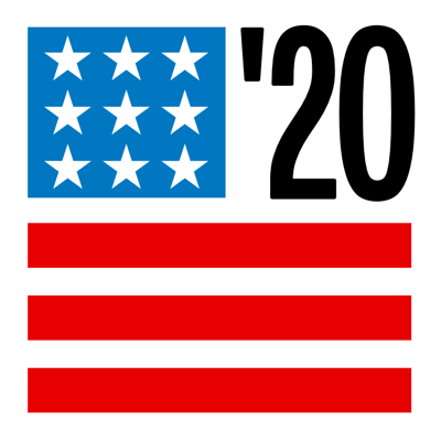 Election 2020 logo square -- DO NOT USE IN PRINT