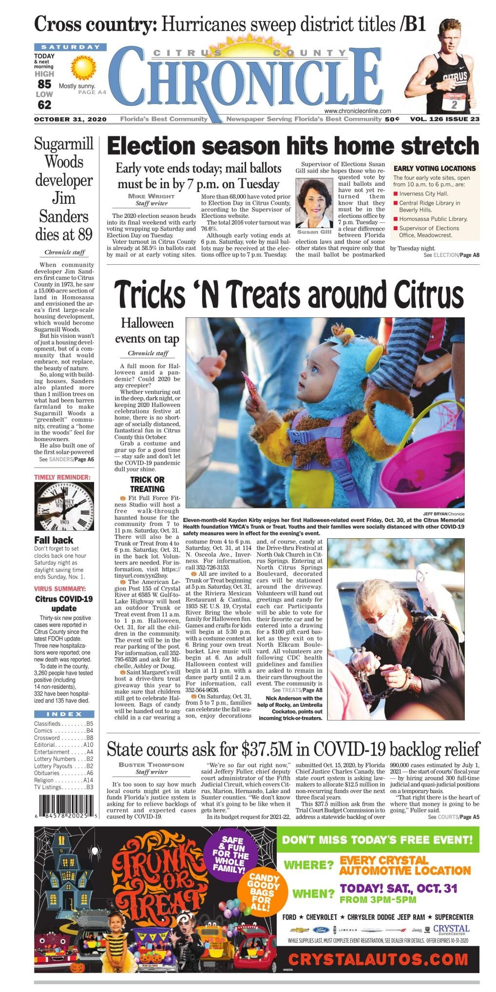 Citrus County Chronicle e-edition Oct 31, 2020