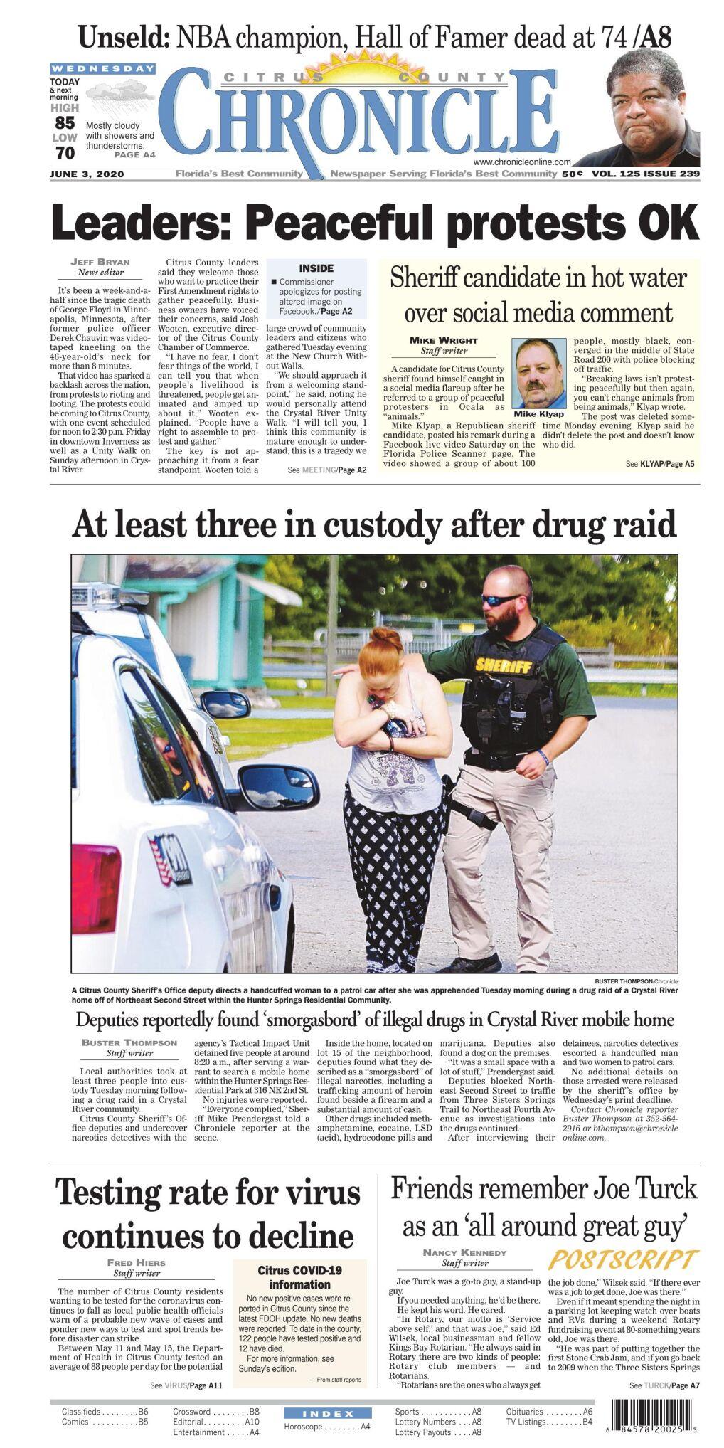 Christmas Show Citrus County Fl 2020 Citrus County Chronicle June 3, 2020 e edition | E edition