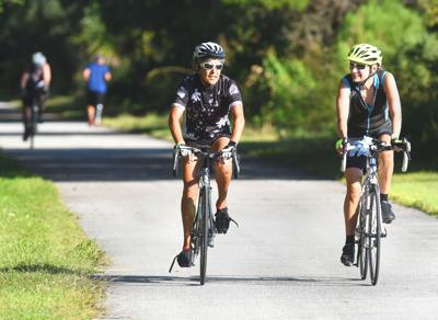 24th annual Rails to Trails ride draws nearly 1,000 cyclists