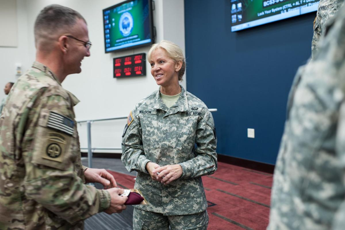 USARC's top warrant officer hosted by 82nd Airborne Division