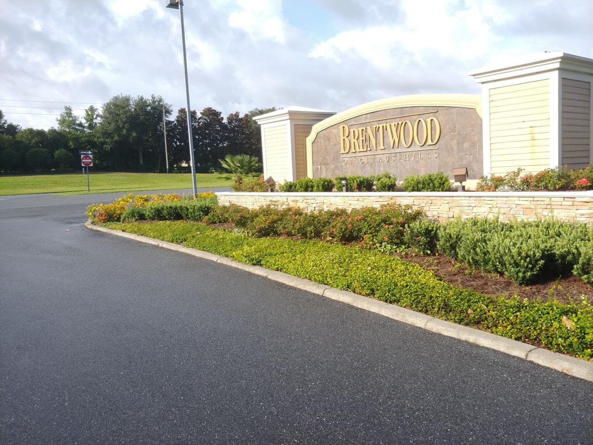 Brentwood entrnace