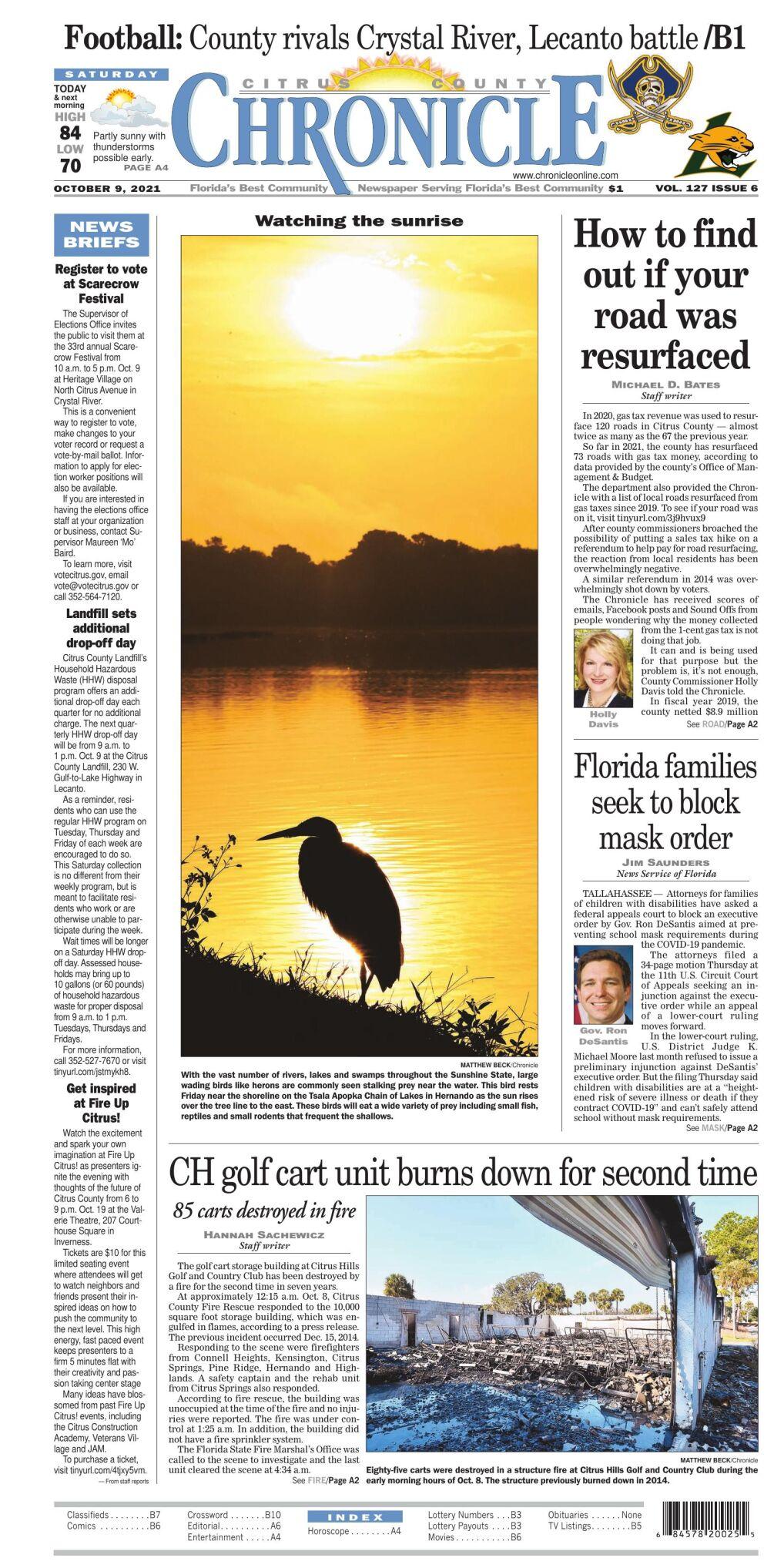 Citrus County Chronicle e-edition Oct 9, 2021