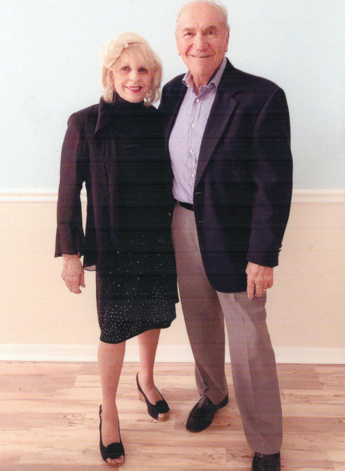 Richard and Claire Laxton 54th anniversary