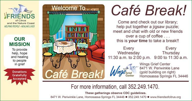 "Details for ""Café Break!"" Wellness Program"