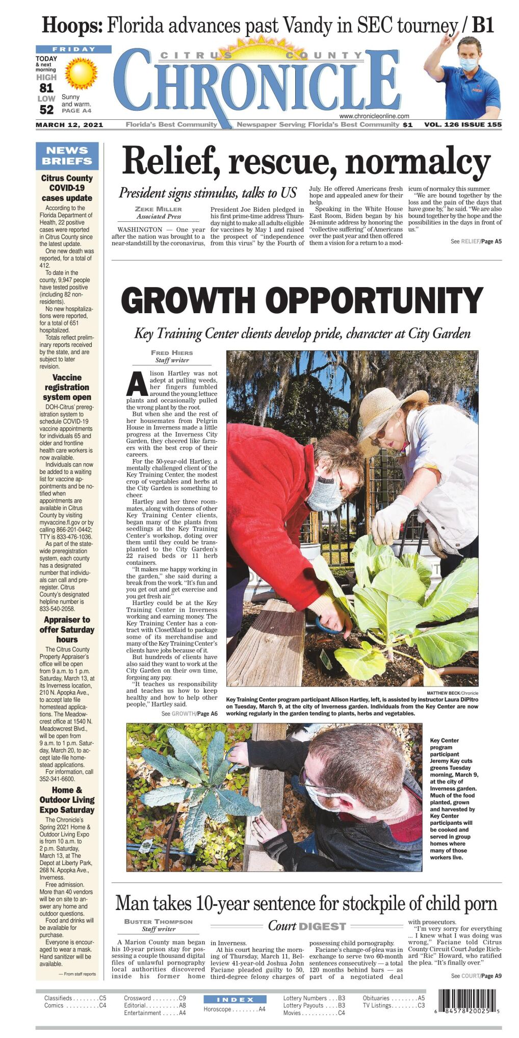 Citrus County Chronicle e edition Mar 12, 2021