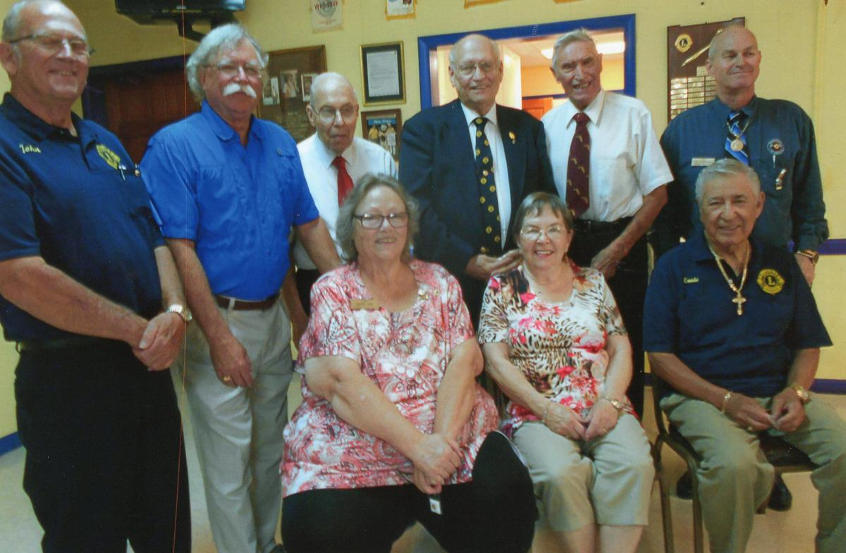 Beverly Hills Lions Club inducts 2019-20 officers