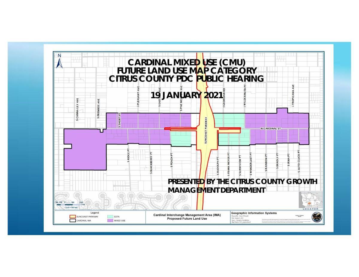 Cardinal Street plan