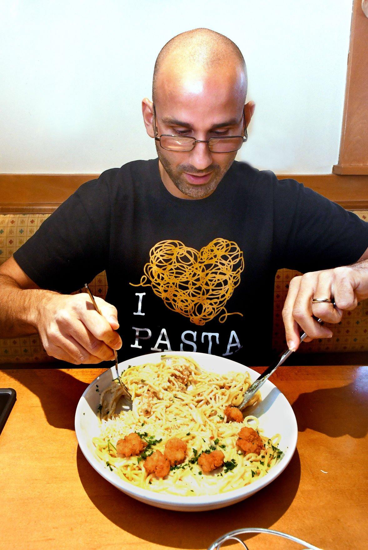 Jeff Berman Pasta Pass Olive Garden