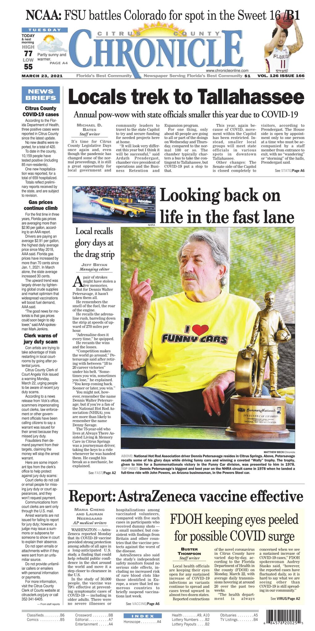 Citrus County Chronicle e edition Mar 23, 2021