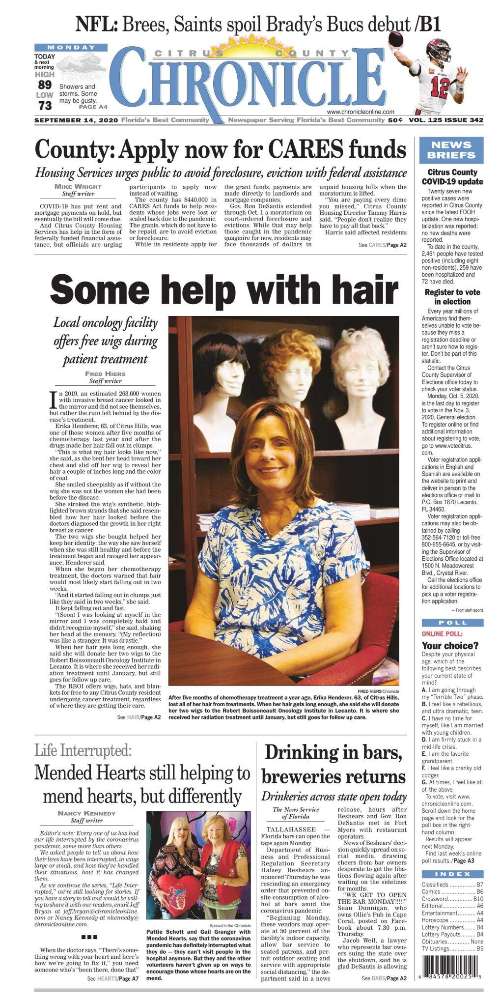 Citrus County Chronicle e edition Sept 14, 2020