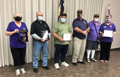 MOPH chapter 776 presents service awards to members